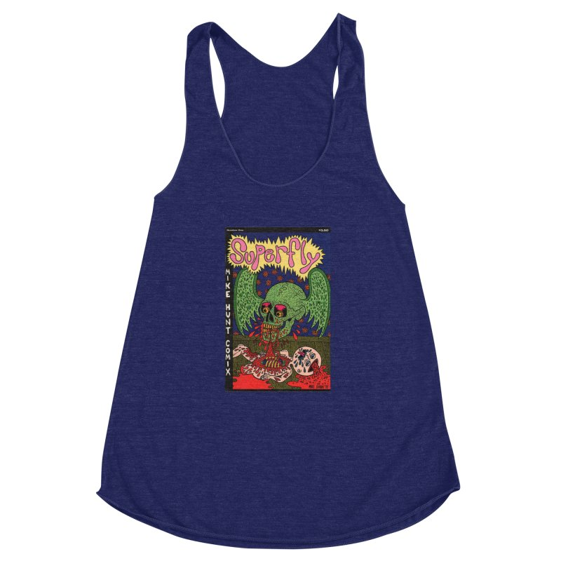 SUPERFLY Women's Racerback Triblend Tank by Mike Diana T-Shirts Mugs and More!