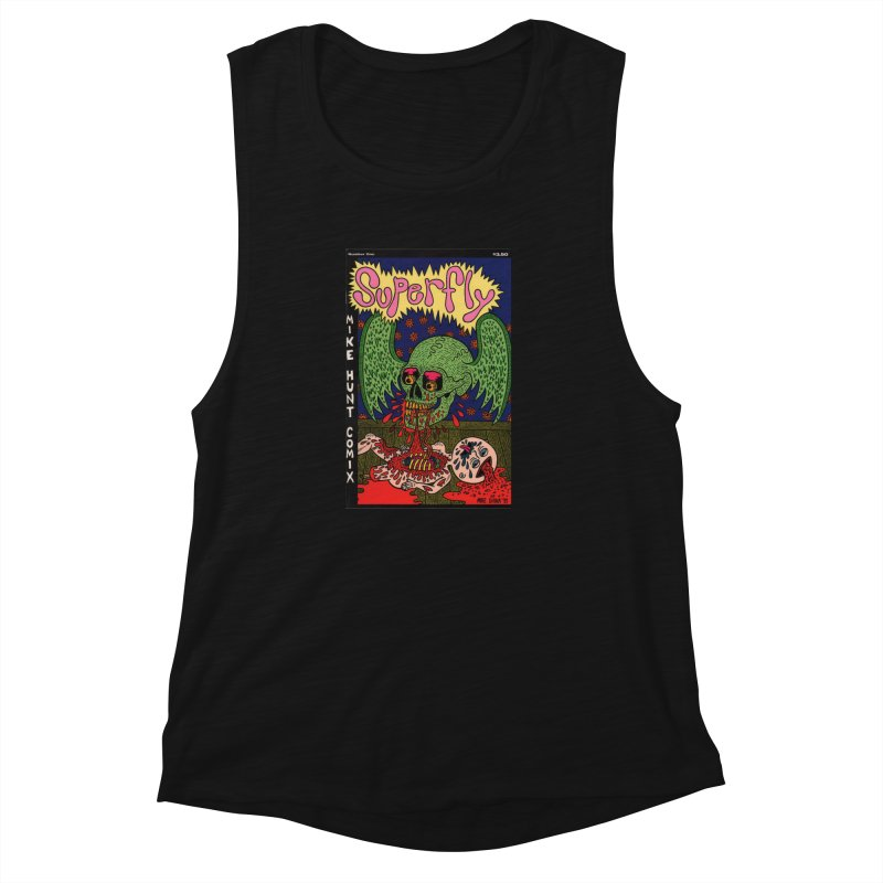 SUPERFLY Women's Muscle Tank by Mike Diana T-Shirts Mugs and More!
