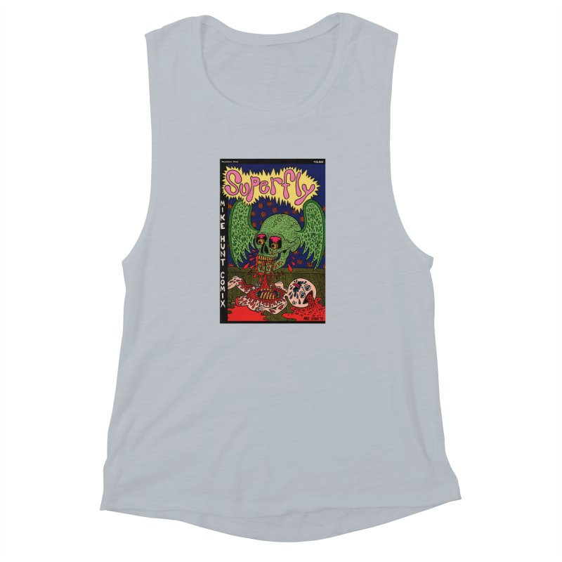 SUPERFLY Women's Muscle Tank by Mike Diana T-Shirts! Horrible Ugly Heads Limited E