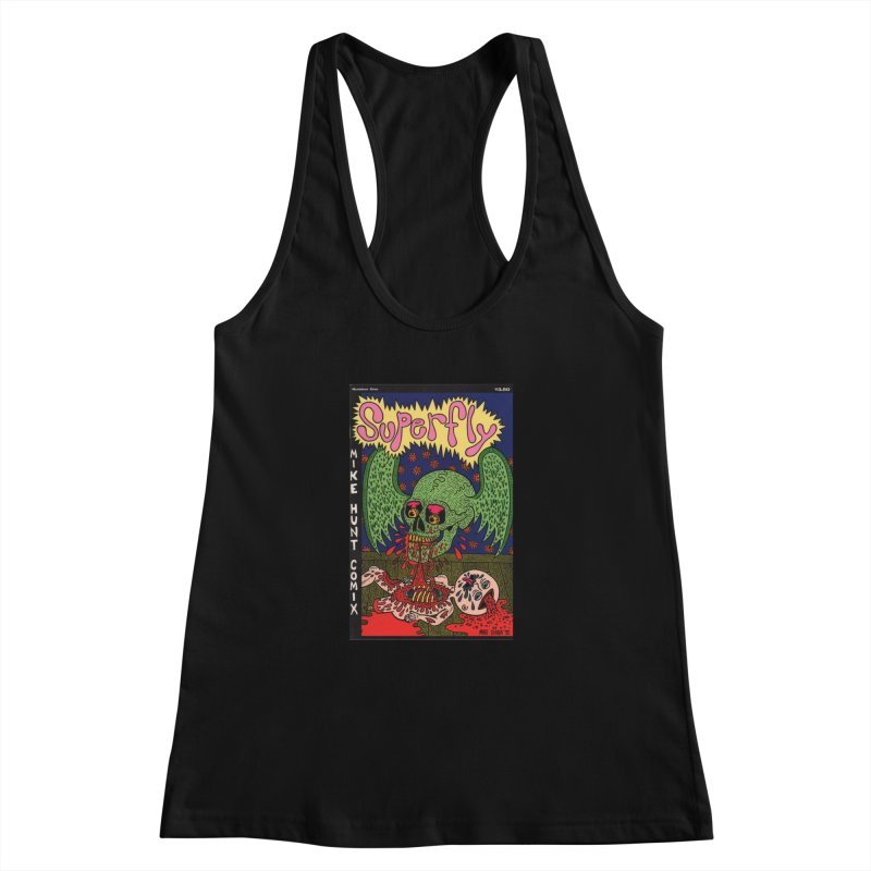 SUPERFLY Women's Racerback Tank by Mike Diana T-Shirts Mugs and More!