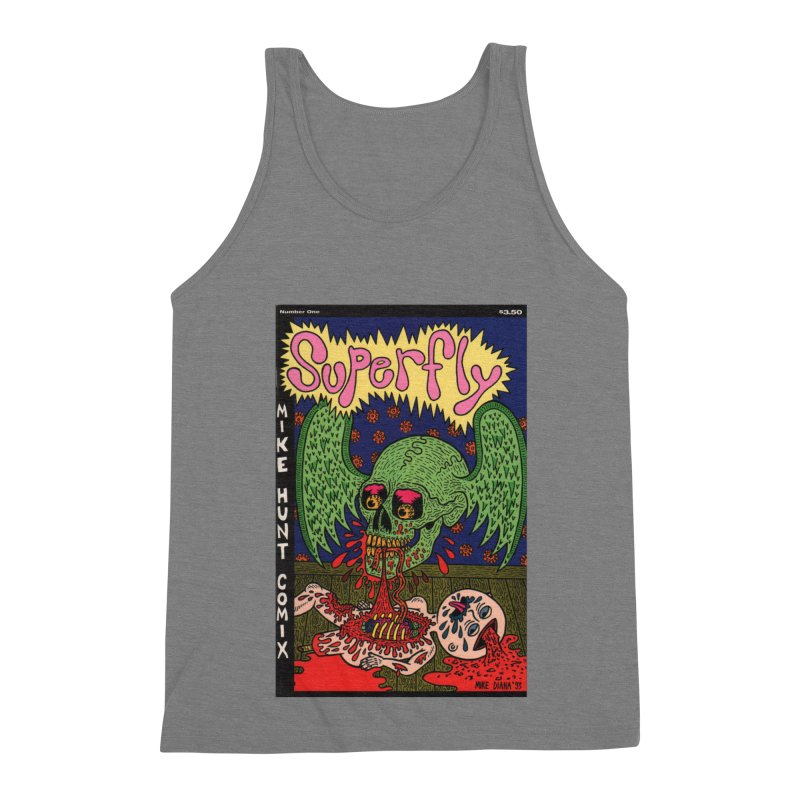 SUPERFLY Men's Triblend Tank by Mike Diana T-Shirts Mugs and More!