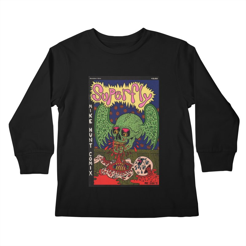 SUPERFLY Kids Longsleeve T-Shirt by Mike Diana T-Shirts Mugs and More!