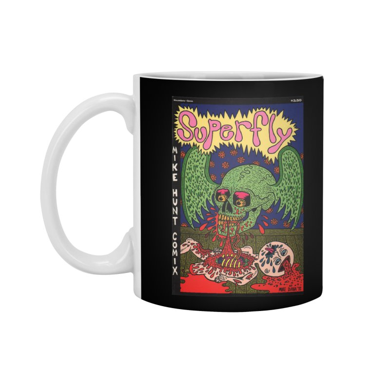 SUPERFLY Accessories Standard Mug by Mike Diana T-Shirts Mugs and More!