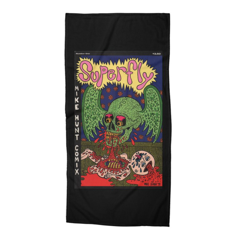 SUPERFLY Accessories Beach Towel by Mike Diana T-Shirts Mugs and More!