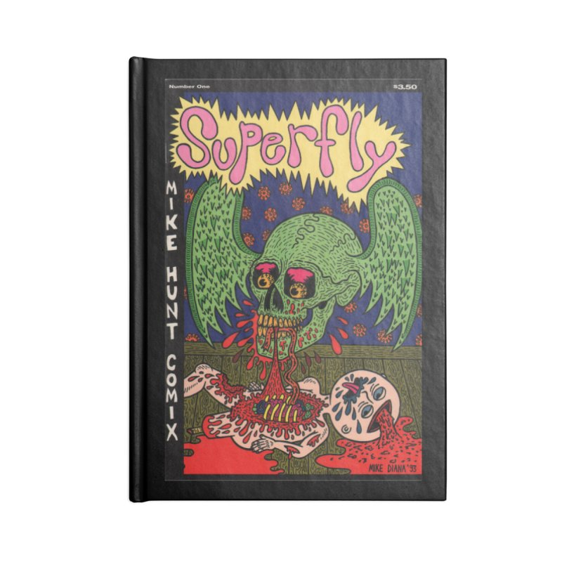 SUPERFLY Accessories Notebook by Mike Diana T-Shirts! Horrible Ugly Heads Limited E