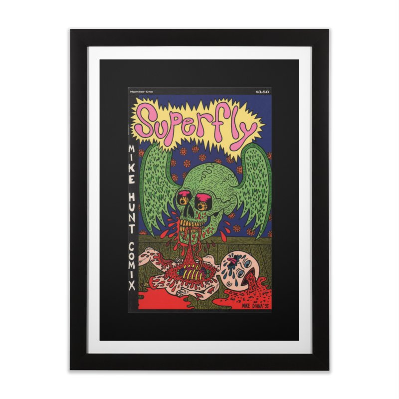 SUPERFLY Home Framed Fine Art Print by Mike Diana T-Shirts Mugs and More!