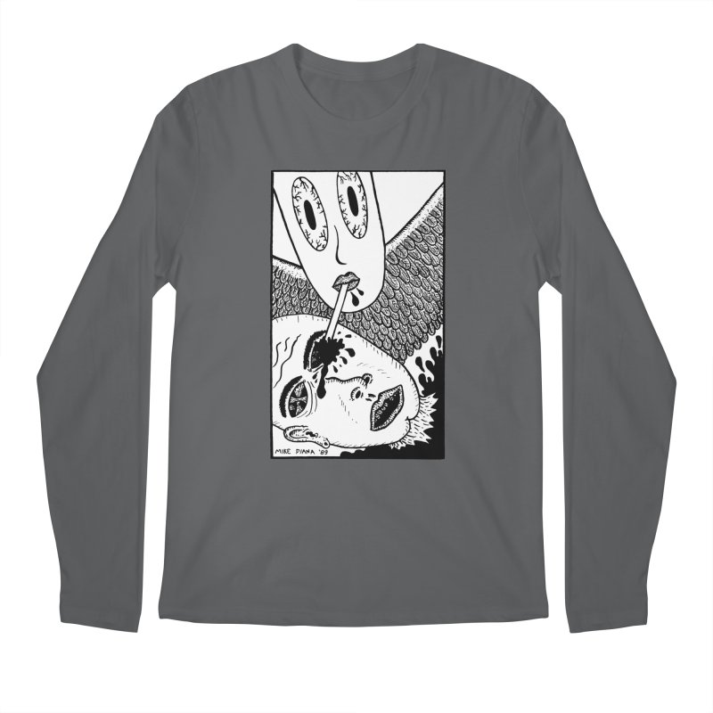 "Mike Diana ""Sip"" Men's Longsleeve T-Shirt by Mike Diana T-Shirts Mugs and More!"
