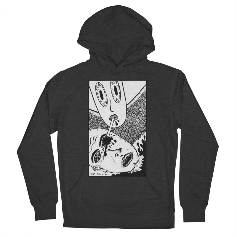 "Mike Diana ""Sip"" Women's French Terry Pullover Hoody by Mike Diana T-Shirts Mugs and More!"