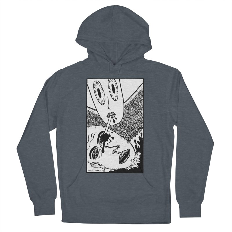 """Mike Diana """"Sip"""" Women's French Terry Pullover Hoody by Mike Diana T-Shirts Mugs and More!"""