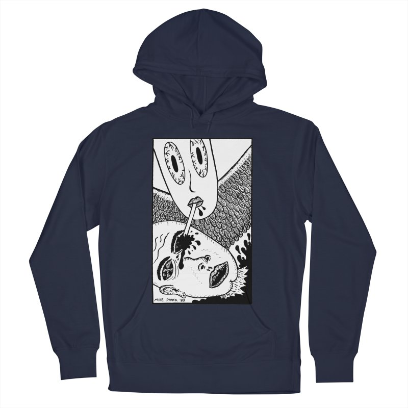 """Mike Diana """"Sip"""" Women's Pullover Hoody by Mike Diana T-Shirts! Horrible Ugly Heads Limited E"""