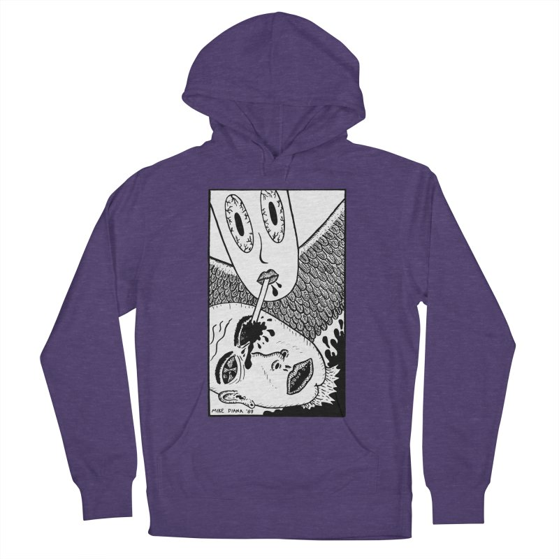 "Mike Diana ""Sip"" Men's French Terry Pullover Hoody by Mike Diana T-Shirts Mugs and More!"