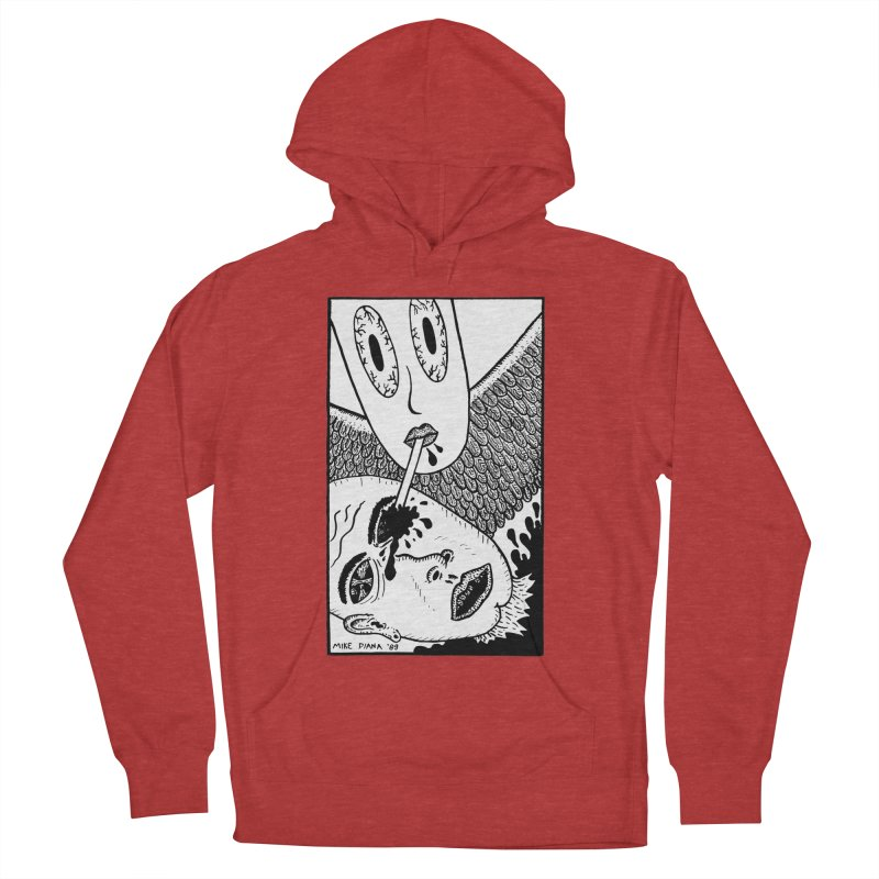 """Mike Diana """"Sip"""" Men's French Terry Pullover Hoody by Mike Diana T-Shirts Mugs and More!"""