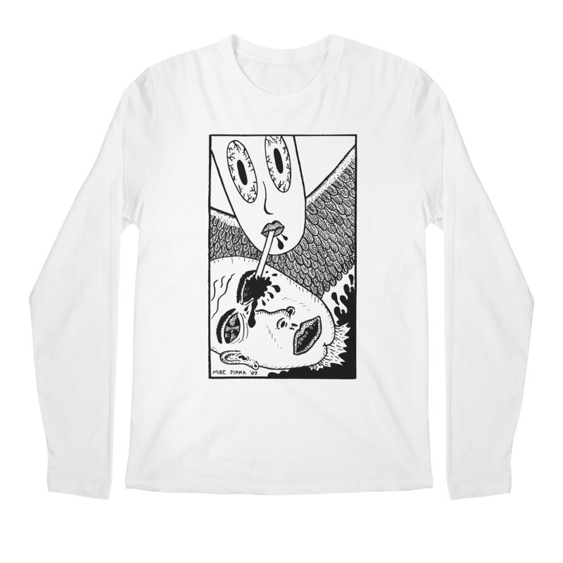 """Mike Diana """"Sip"""" Men's  by Mike Diana T-Shirts! Horrible Ugly Heads Limited E"""