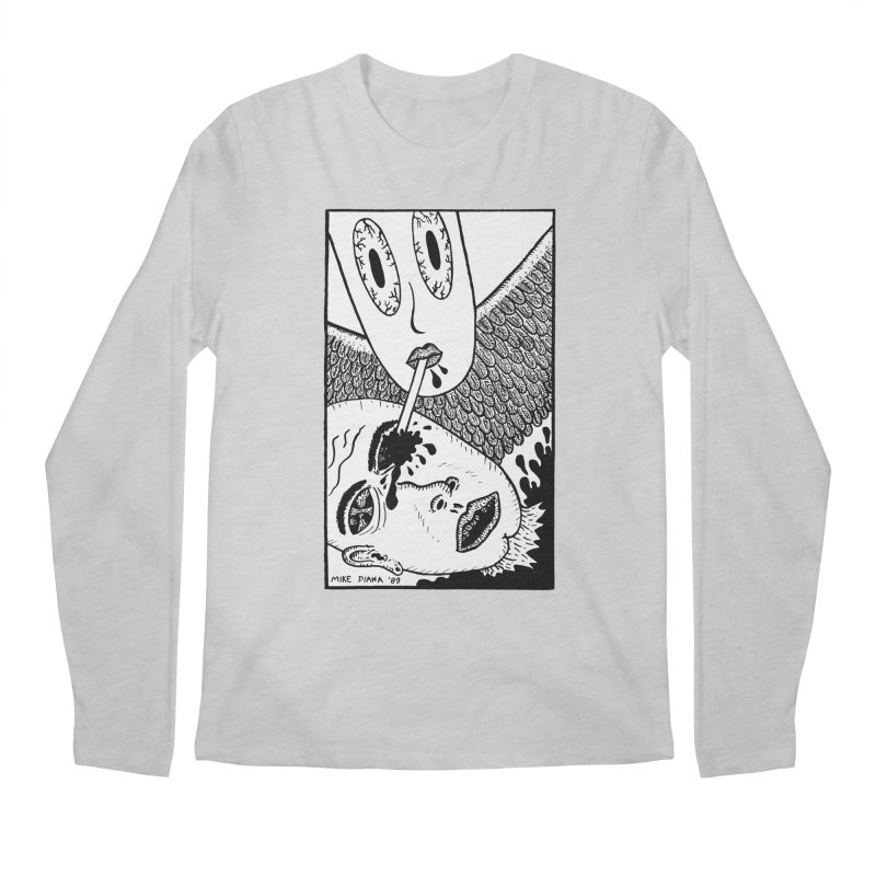 """Mike Diana """"Sip"""" Men's Regular Longsleeve T-Shirt by Mike Diana T-Shirts Mugs and More!"""