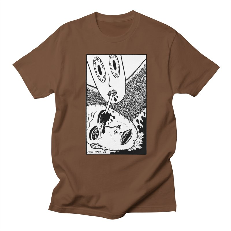 """Mike Diana """"Sip"""" Men's T-Shirt by Mike Diana T-Shirts! Horrible Ugly Heads Limited E"""