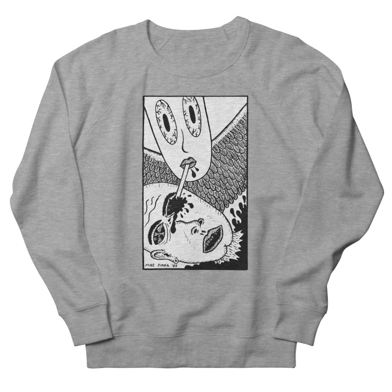 """Mike Diana """"Sip"""" Women's French Terry Sweatshirt by Mike Diana T-Shirts Mugs and More!"""
