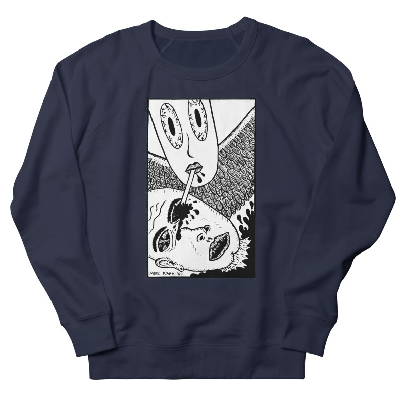 """Mike Diana """"Sip"""" Men's French Terry Sweatshirt by Mike Diana T-Shirts Mugs and More!"""