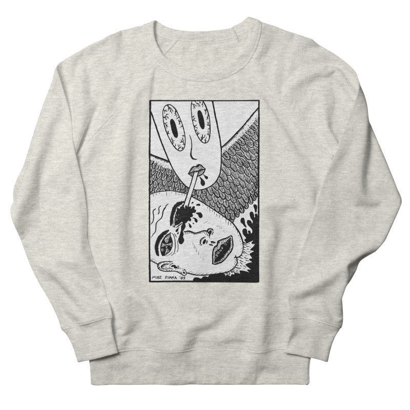 "Mike Diana ""Sip"" Men's French Terry Sweatshirt by Mike Diana T-Shirts Mugs and More!"