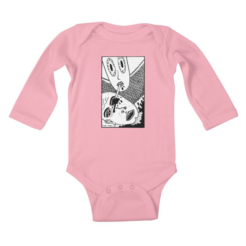 """Mike Diana """"Sip"""" Kids Baby Longsleeve Bodysuit by Mike Diana T-Shirts Mugs and More!"""