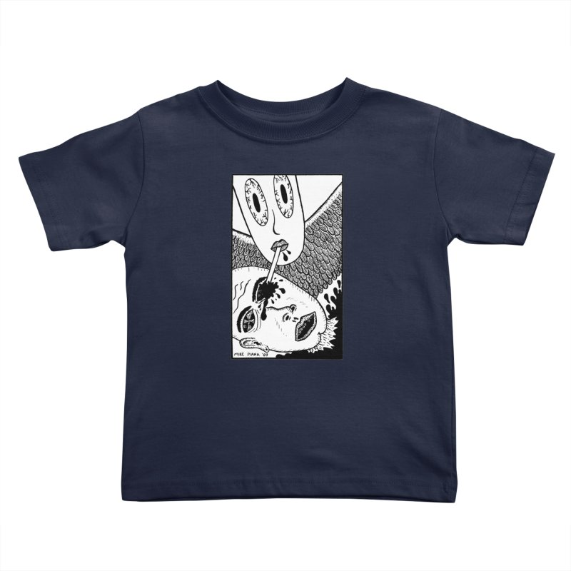 "Mike Diana ""Sip"" Kids Toddler T-Shirt by Mike Diana T-Shirts! Horrible Ugly Heads Limited E"