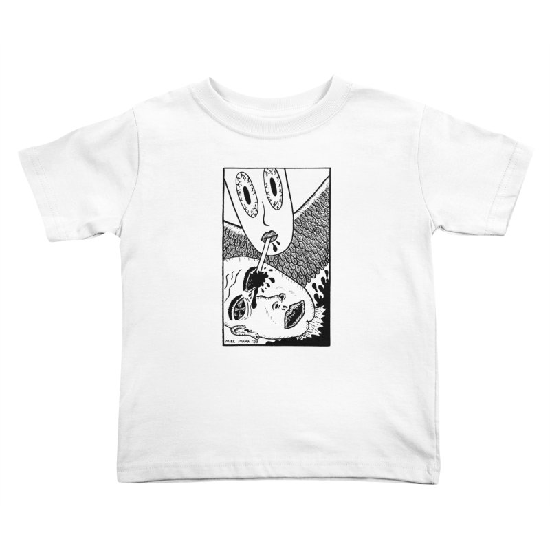 "Mike Diana ""Sip"" Kids  by Mike Diana T-Shirts! Horrible Ugly Heads Limited E"