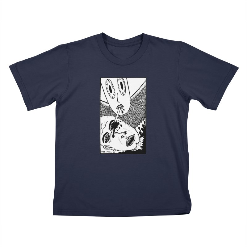 """Mike Diana """"Sip"""" Kids Toddler T-Shirt by Mike Diana T-Shirts! Horrible Ugly Heads Limited E"""