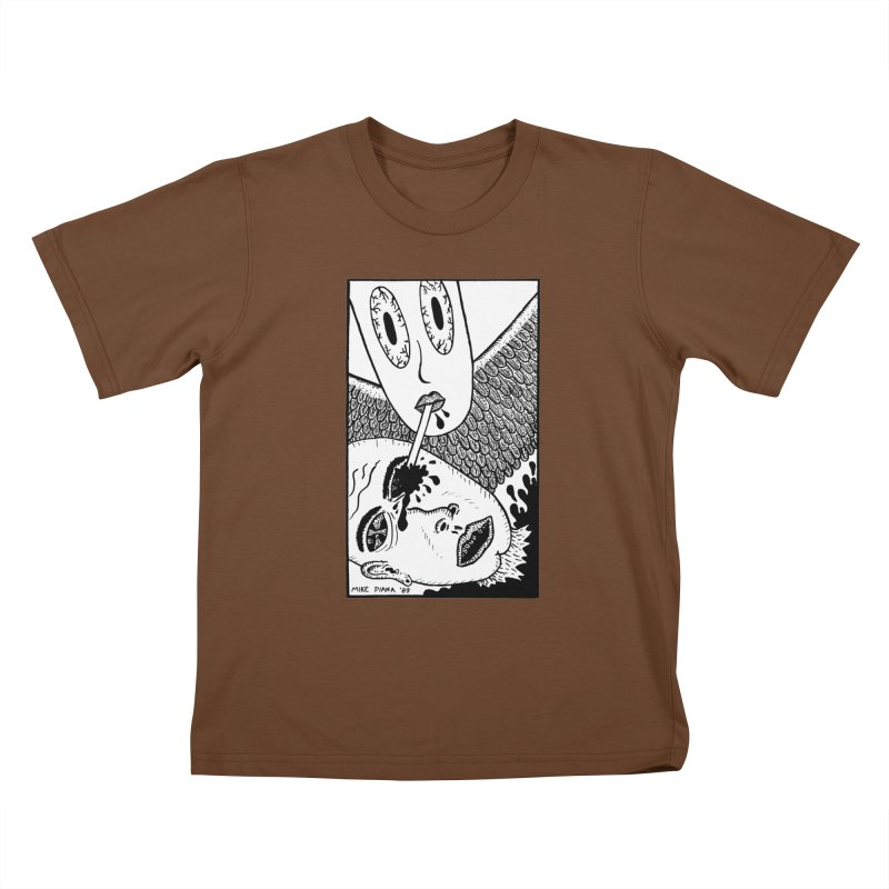 """Mike Diana """"Sip"""" Kids T-Shirt by Mike Diana T-Shirts Mugs and More!"""