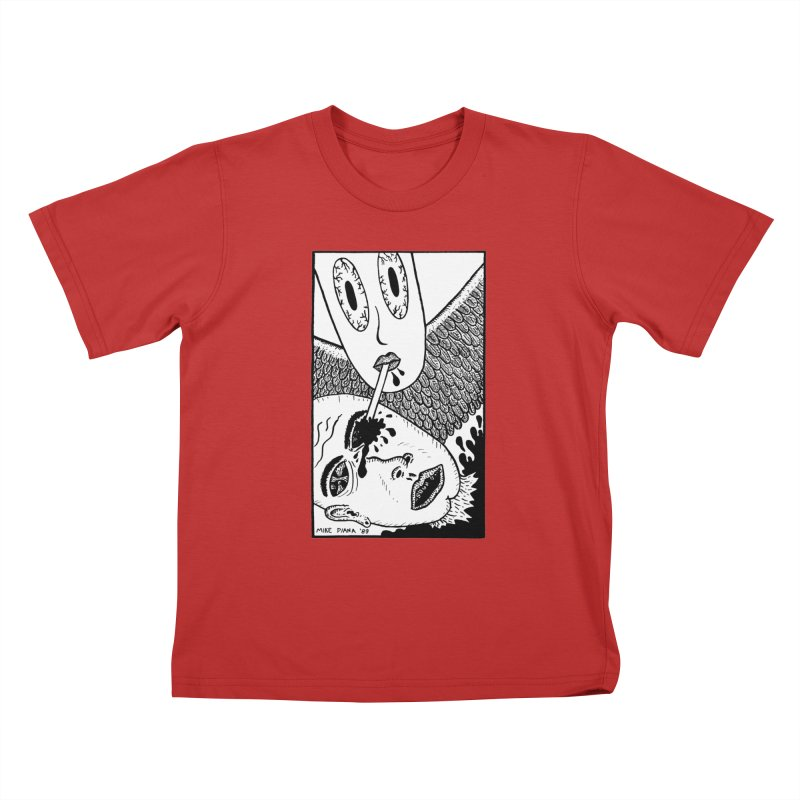 "Mike Diana ""Sip"" Kids T-Shirt by Mike Diana T-Shirts Mugs and More!"
