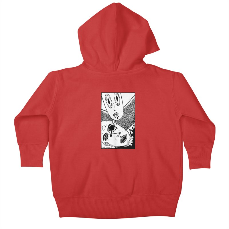 "Mike Diana ""Sip"" Kids Baby Zip-Up Hoody by Mike Diana T-Shirts Mugs and More!"