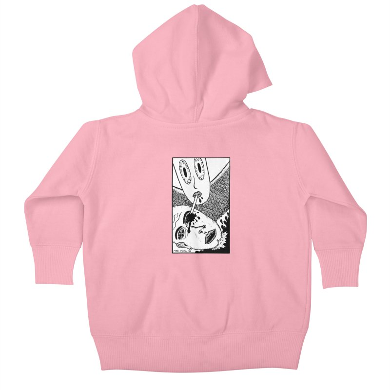 "Mike Diana ""Sip"" Kids Baby Zip-Up Hoody by Mike Diana T-Shirts! Horrible Ugly Heads Limited E"