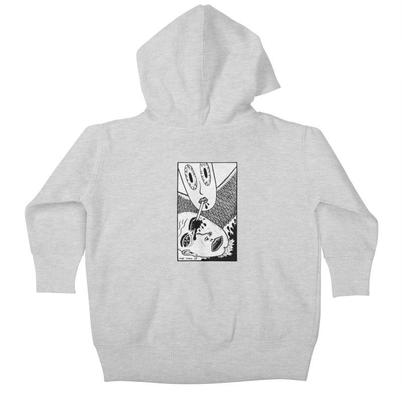"""Mike Diana """"Sip"""" Kids Baby Zip-Up Hoody by Mike Diana T-Shirts Mugs and More!"""