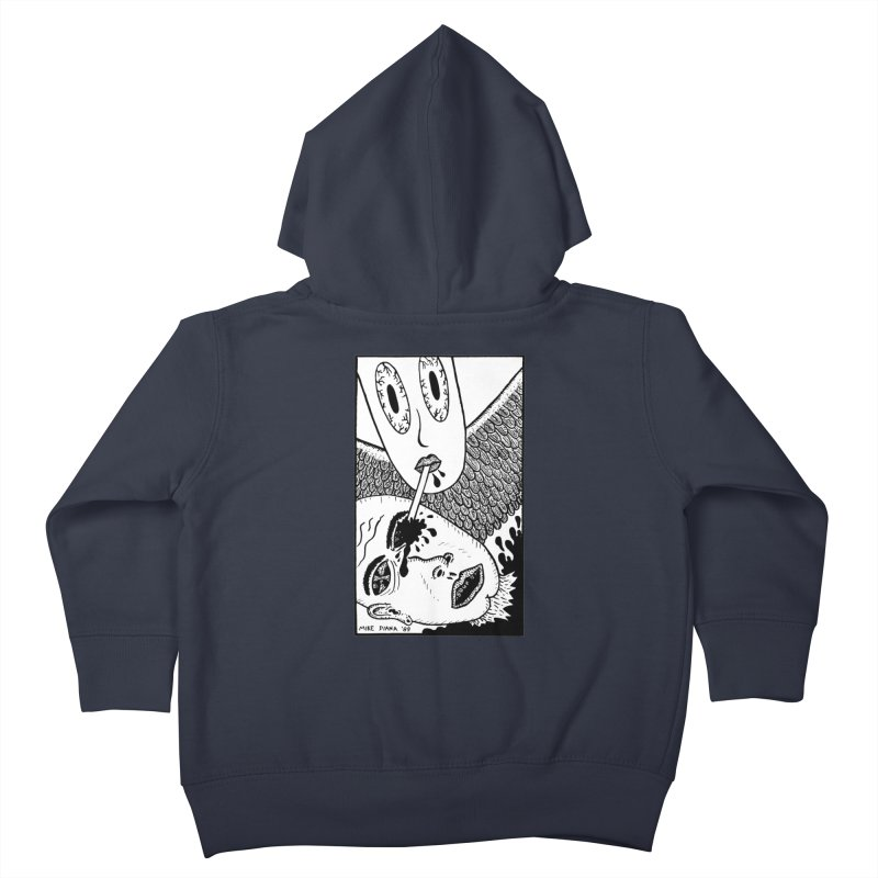 """Mike Diana """"Sip"""" Kids Toddler Zip-Up Hoody by Mike Diana T-Shirts Mugs and More!"""