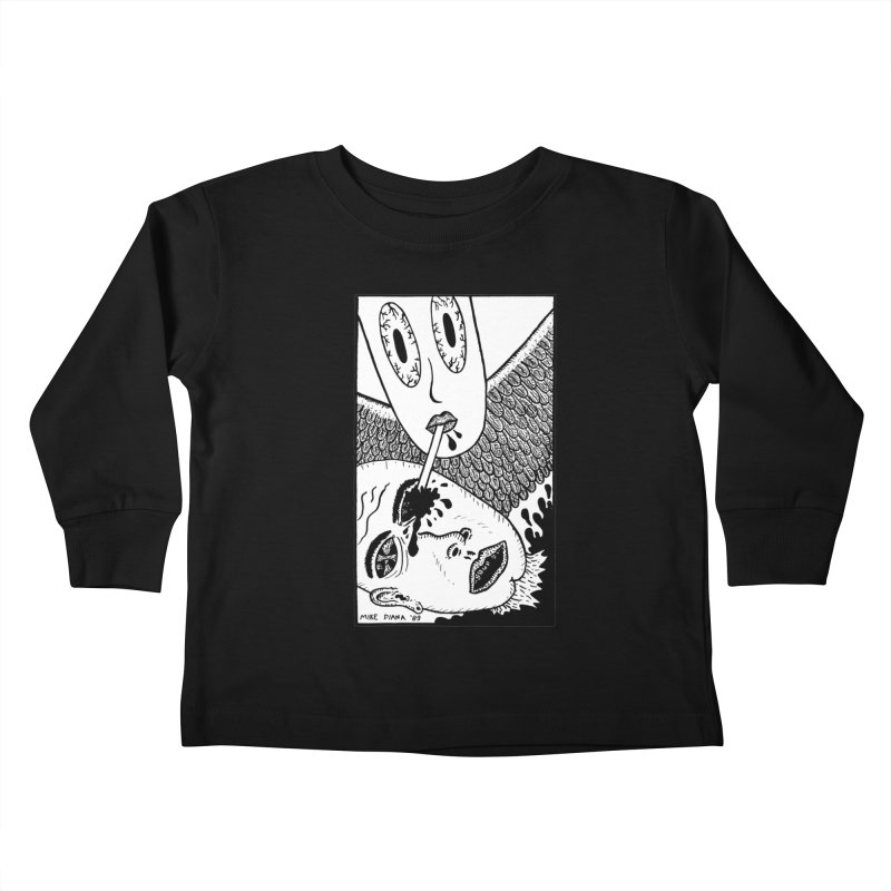 "Mike Diana ""Sip"" Kids Toddler Longsleeve T-Shirt by Mike Diana T-Shirts Mugs and More!"