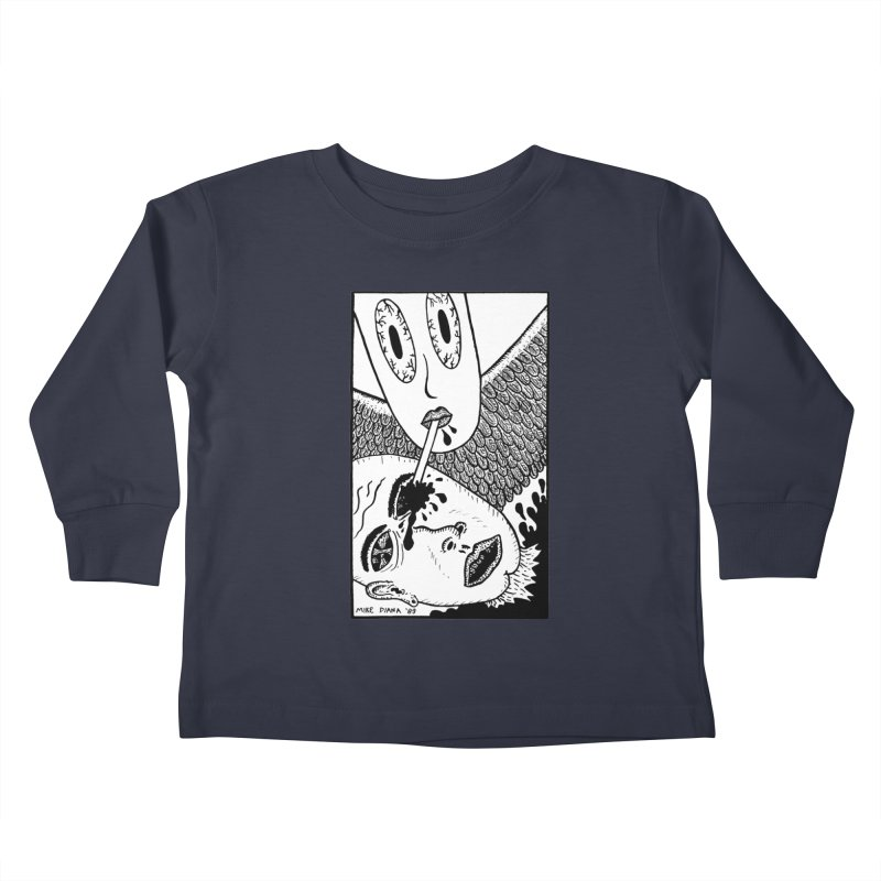 """Mike Diana """"Sip"""" Kids Toddler Longsleeve T-Shirt by Mike Diana T-Shirts Mugs and More!"""
