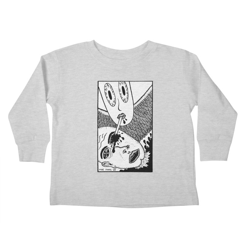 """Mike Diana """"Sip"""" Kids  by Mike Diana T-Shirts! Horrible Ugly Heads Limited E"""