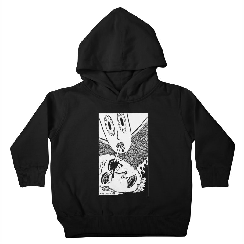 """Mike Diana """"Sip"""" Kids Toddler Pullover Hoody by Mike Diana T-Shirts Mugs and More!"""
