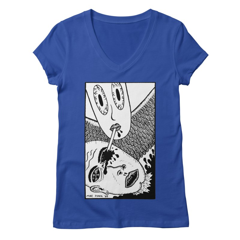"Mike Diana ""Sip"" Women's  by Mike Diana T-Shirts! Horrible Ugly Heads Limited E"