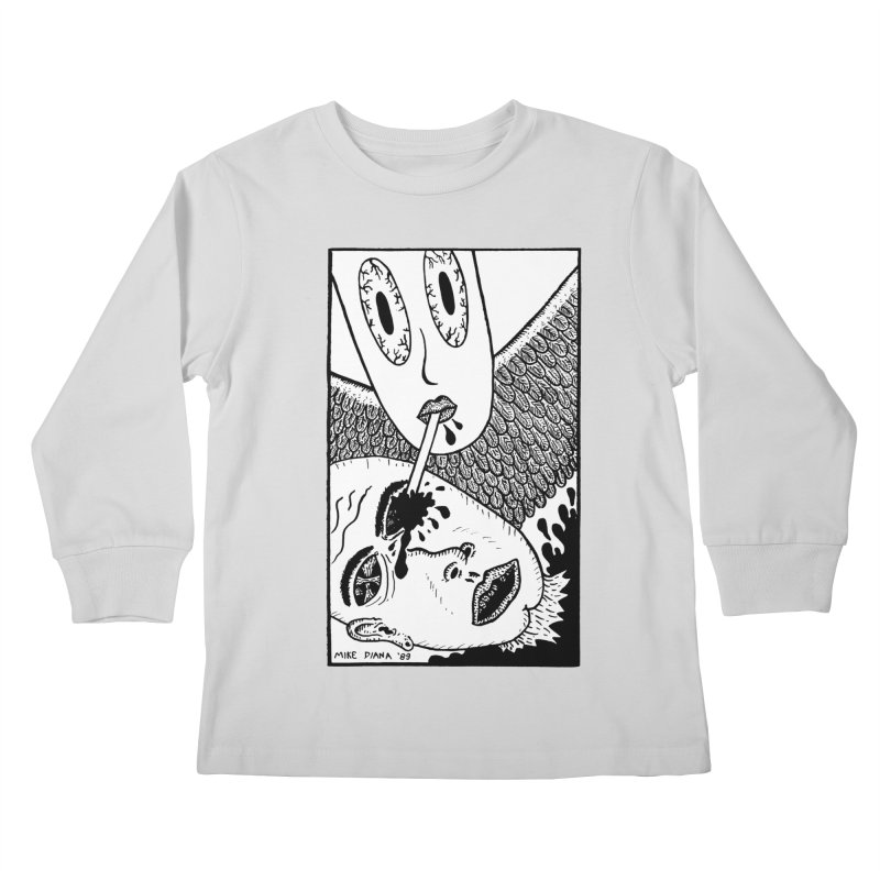 """Mike Diana """"Sip"""" Kids Longsleeve T-Shirt by Mike Diana T-Shirts Mugs and More!"""