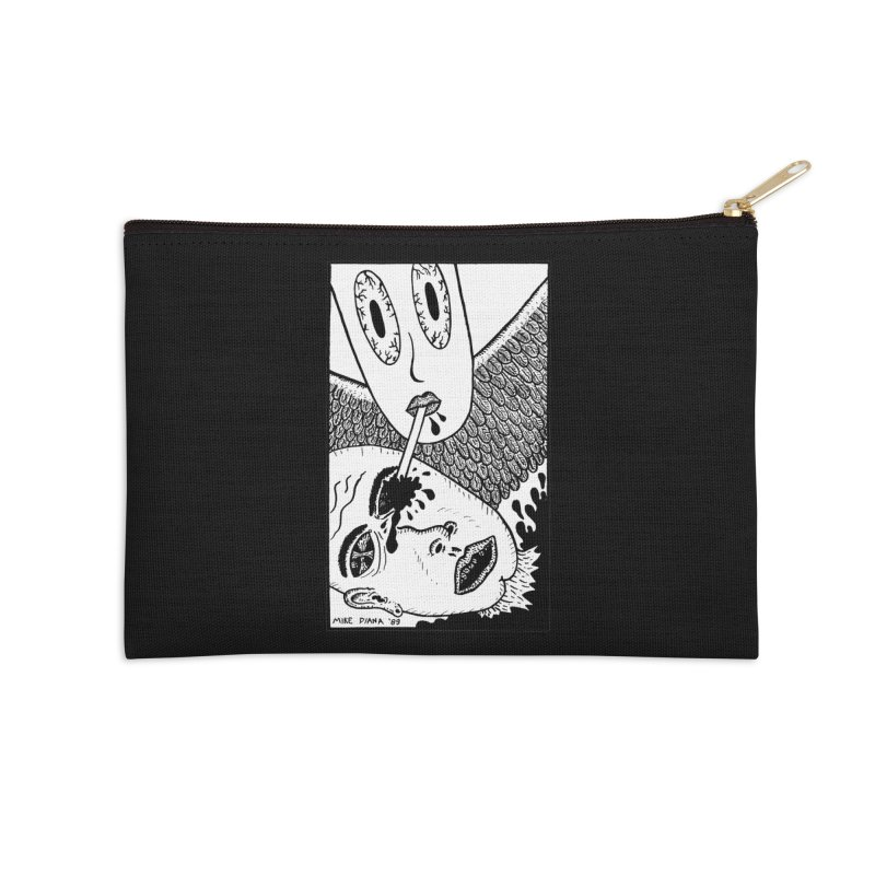 "Mike Diana ""Sip"" Accessories Zip Pouch by Mike Diana T-Shirts Mugs and More!"