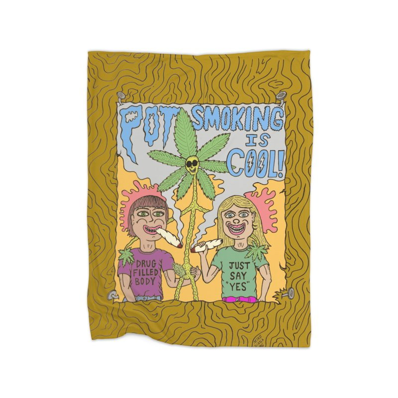 Pot Smoking Is Cool by Mike Diana Home  by Mike Diana T-Shirts! Horrible Ugly Heads Limited E
