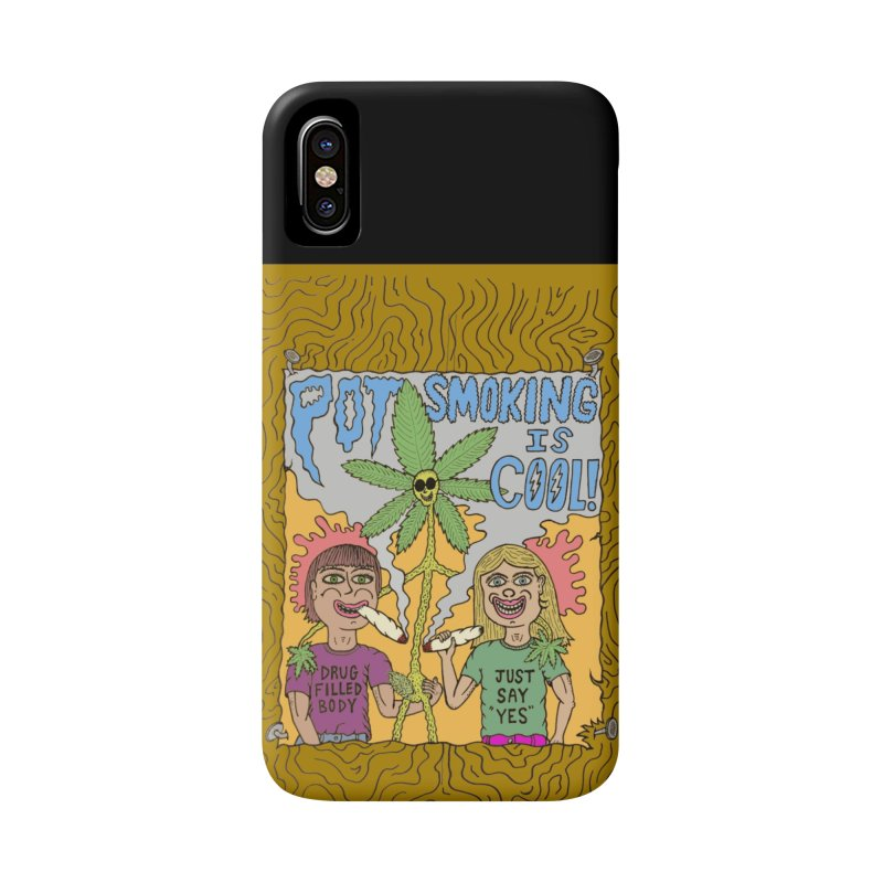 Pot Smoking Is Cool by Mike Diana Accessories Phone Case by Mike Diana T-Shirts Mugs and More!