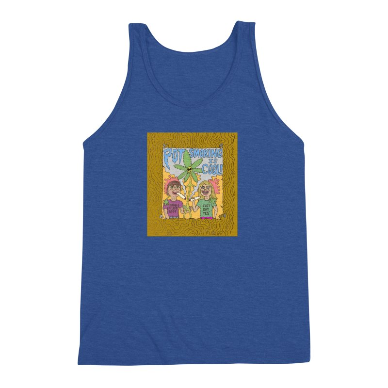 Pot Smoking Is Cool by Mike Diana Men's Tank by Mike Diana T-Shirts Mugs and More!