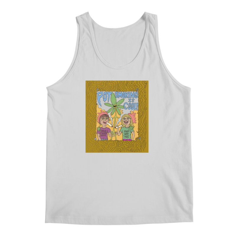 Pot Smoking Is Cool by Mike Diana Men's Regular Tank by Mike Diana T-Shirts Mugs and More!