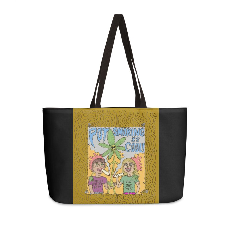 Pot Smoking Is Cool by Mike Diana Accessories Bag by Mike Diana T-Shirts Mugs and More!