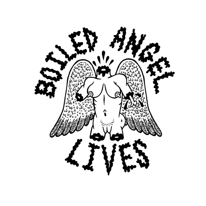 Boiled Angel Lives Home Blanket by Mike Diana T-Shirts Mugs and More!