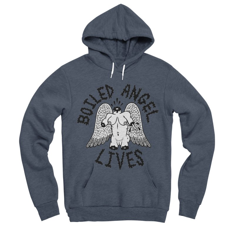 Boiled Angel Lives Women's Sponge Fleece Pullover Hoody by Mike Diana T-Shirts Mugs and More!