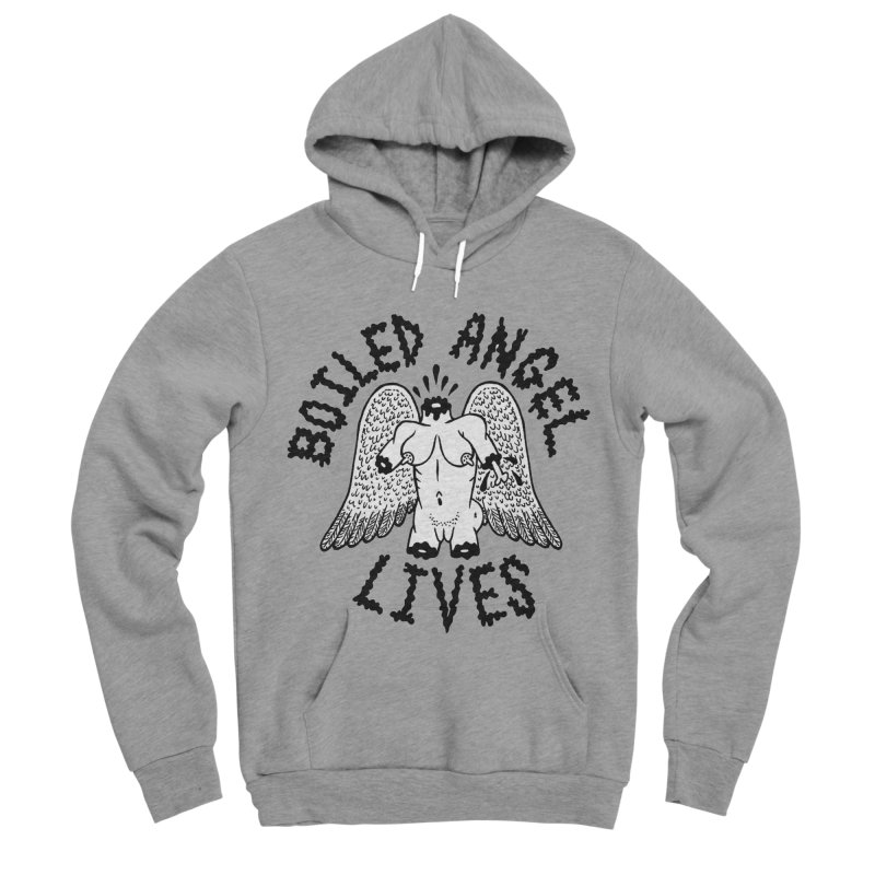 Boiled Angel Lives Men's Sponge Fleece Pullover Hoody by Mike Diana T-Shirts Mugs and More!