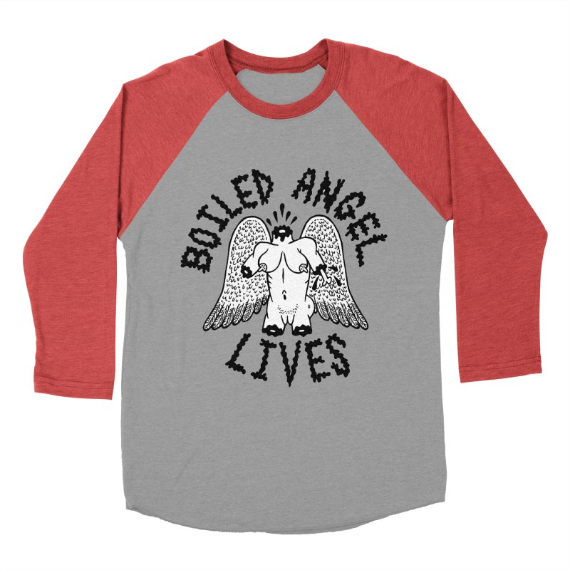 Boiled Angel Lives Women's Longsleeve T-Shirt by Mike Diana T-Shirts Mugs and More!