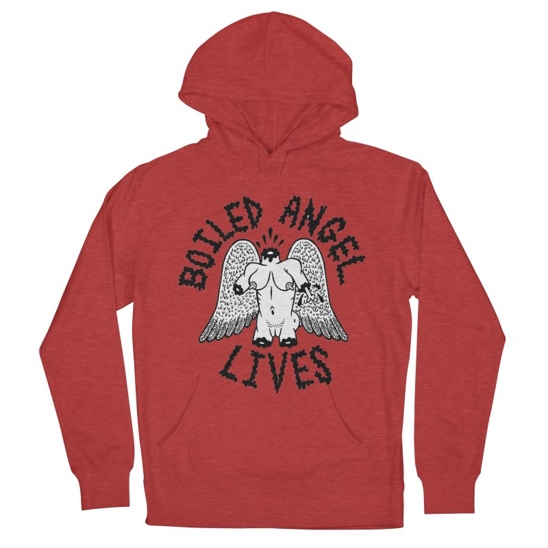 Boiled Angel Lives Women's French Terry Pullover Hoody by Mike Diana T-Shirts Mugs and More!