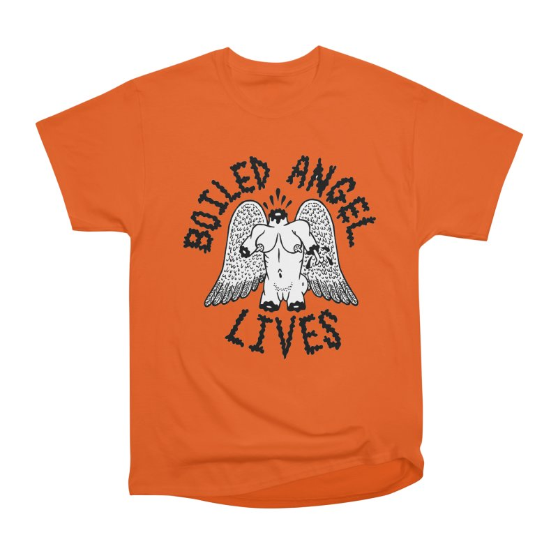 Boiled Angel Lives Men's Heavyweight T-Shirt by Mike Diana T-Shirts Mugs and More!